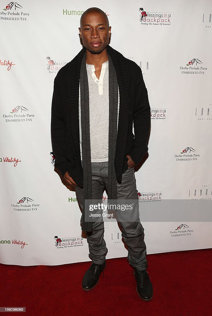 Robbie Jones attends The 4th Annual Unbridled Eve Derby Prelude Party at The London West Hollywood on January 10, 2013 in West Hollywood, California.