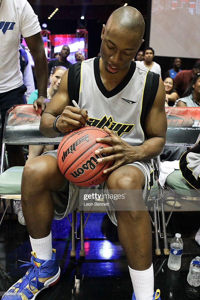 Robbie Jones attends the Ball Up 'Search For the Next' Tour Celebrity Game at Megafest on August 31, 2013 in Dallas, United States.