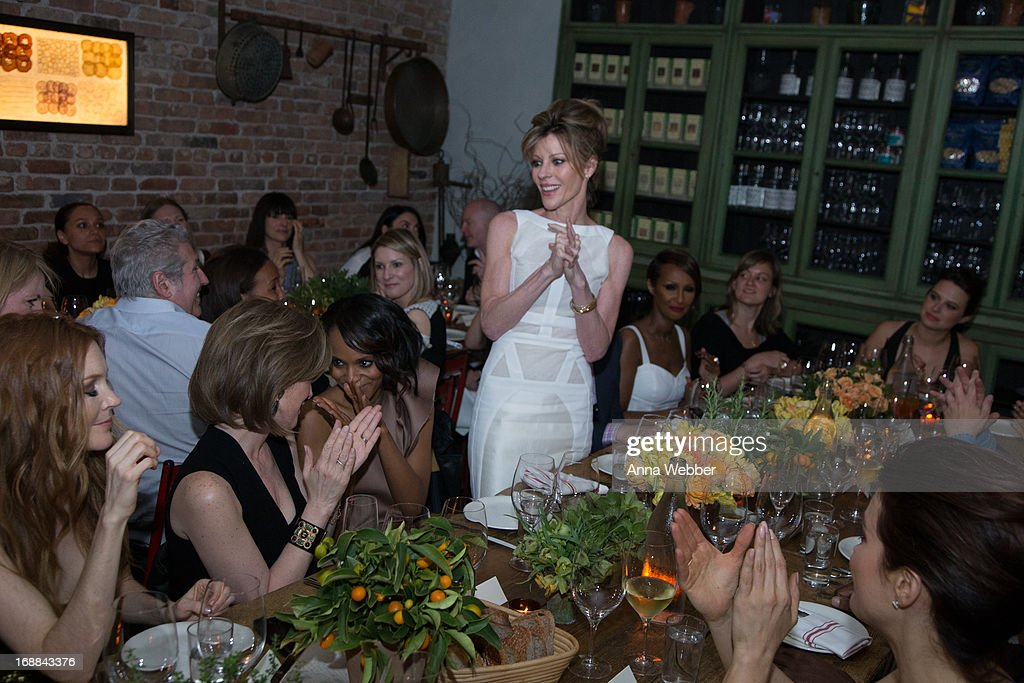<a gi-track='captionPersonalityLinkClicked' href=/galleries/search?phrase=Robbie+Myers&family=editorial&specificpeople=2260300 ng-click='$event.stopPropagation()'>Robbie Myers</a> speaks during ELLE & Tod's Celebrate <a gi-track='captionPersonalityLinkClicked' href=/galleries/search?phrase=Kerry+Washington&family=editorial&specificpeople=201534 ng-click='$event.stopPropagation()'>Kerry Washington</a> at Il Buco Alimentari & Vineria on May 15, 2013 in New York City.