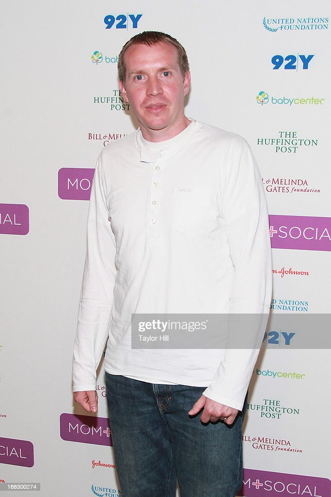 Robbie Parker, father of Emilie Parker, who was killed at age 6 in a school shooting in Newtown, Conneticut, attends the Mom + Social Event at the 92Y Tribeca on May 8, 2013 in New York City.