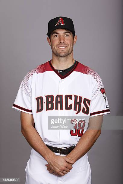 Robbie Ray of the Arizona Diamondbacks poses during Photo Day on Sunday February 28 2016 at Salt River Fields at Talking Stick in Scottsdale Arizona