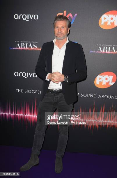 Robbie Savage attending the Audio and Radio Industry Awards at the First Direct Arena in Leeds