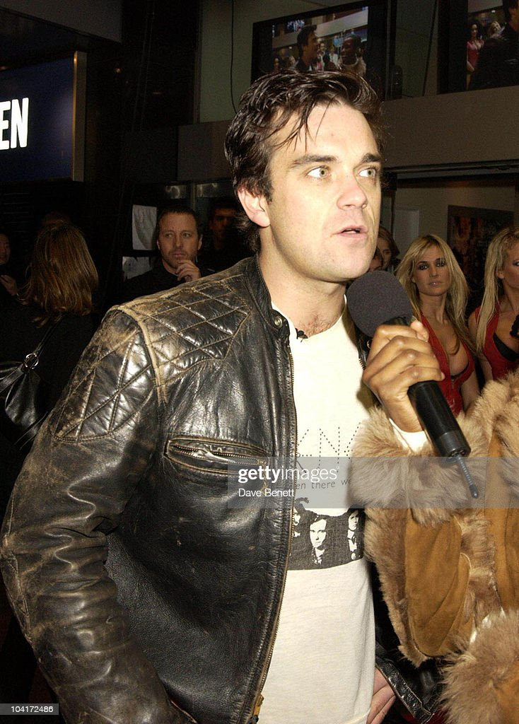 Robbie Williams, Robbie Williams What We Did Last Summer, Knebworth Dvd Premiere, At The Odeon, Leicester Square, London