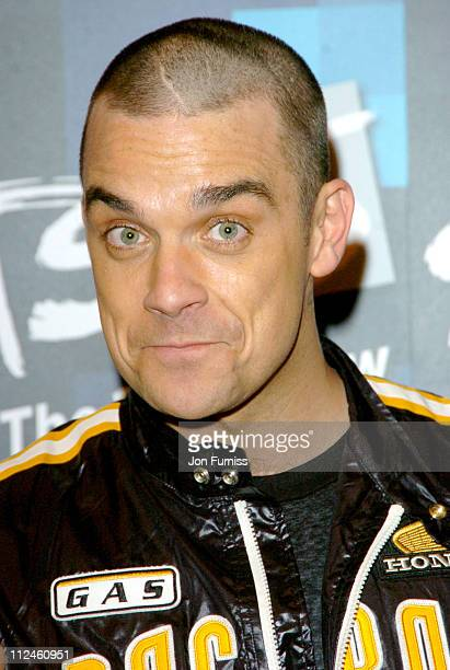 Robbie Williams winner of Brits 25 best song award for 'Angels'