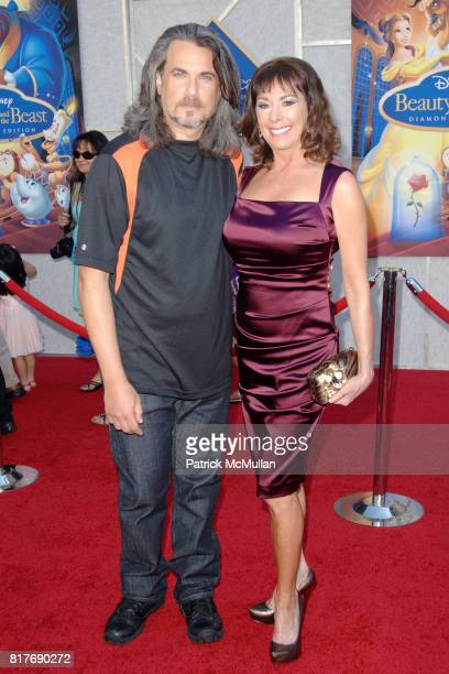Robby Benson and Paige O'Hara attend WALT DISNEY STUDIOS HOME ENTERTAINMENT HOSTS A SINGALONG PREMIERE OF BEAUTY AND THE BEAST at El Capitan Theatre...