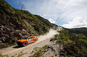 Robby Gordon and Johnny Campbell of the USA driving for Speed Energy Racing HST Hummer compete during day 2 of the Dakar Rallly on January 5 2015...