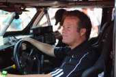 Robby Gordon of team Hummer on January 4 2013 in Lima Peru
