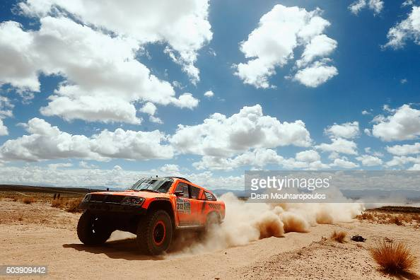 Robby Gordon of the United States of America and Kellon Walch of the United States of America in the GORDINI SC1 for TEAM SPEED ENERGY competes on...