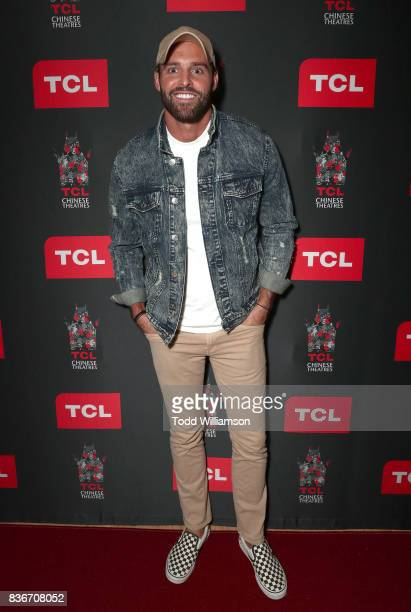 Robby Hayes attends a 'Bachelor In Paradise' Viewing Party on August 21 2017 in Los Angeles California