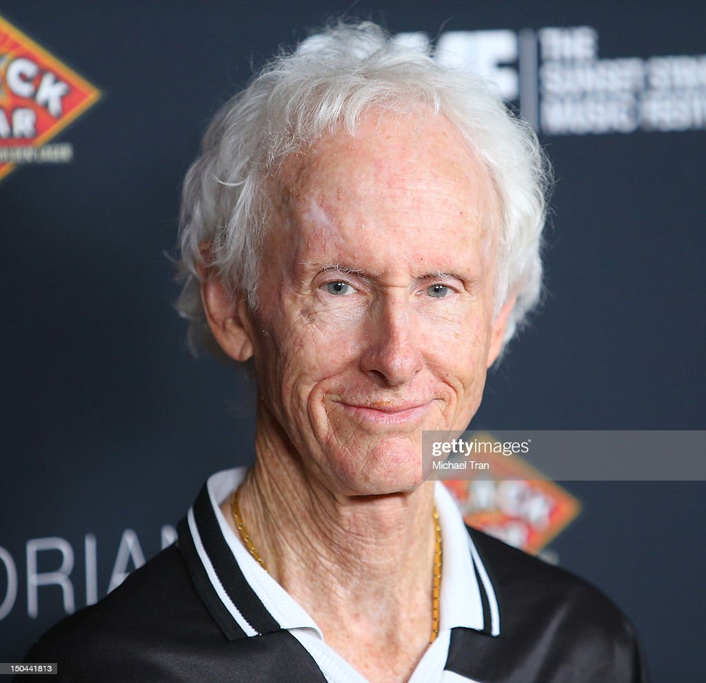 Robby Krieger of The Doors arrives at The 5th Annual Sunset Strip Music Festival party held at SkyBar at the Mondrian Los Angeles on August 17, 2012 in West Hollywood, California.