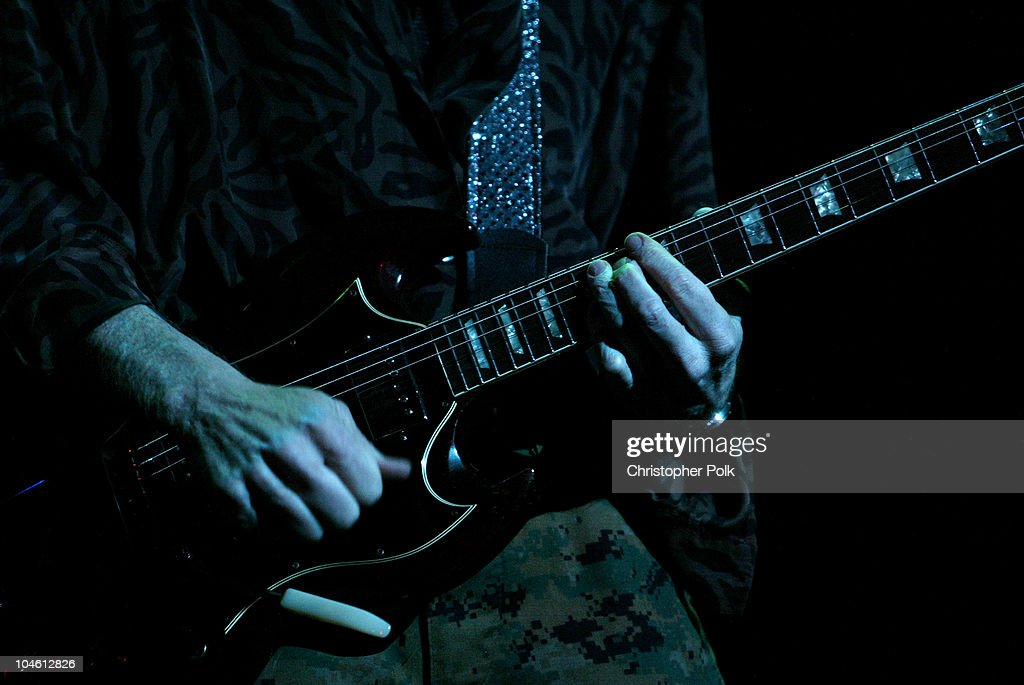 Robby Krieger of The Doors of the 21st Century during The Doors perform live at the Universal Amphitheater at Universal Amphitheater in Universal City, CA, United States.
