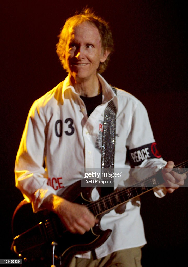 Robby Krieger of The Doors of the 21st Century during The Doors of the 21st Century in Concert - May 5, 2004 at Roseland Ballroom in New York City, New York, United States.