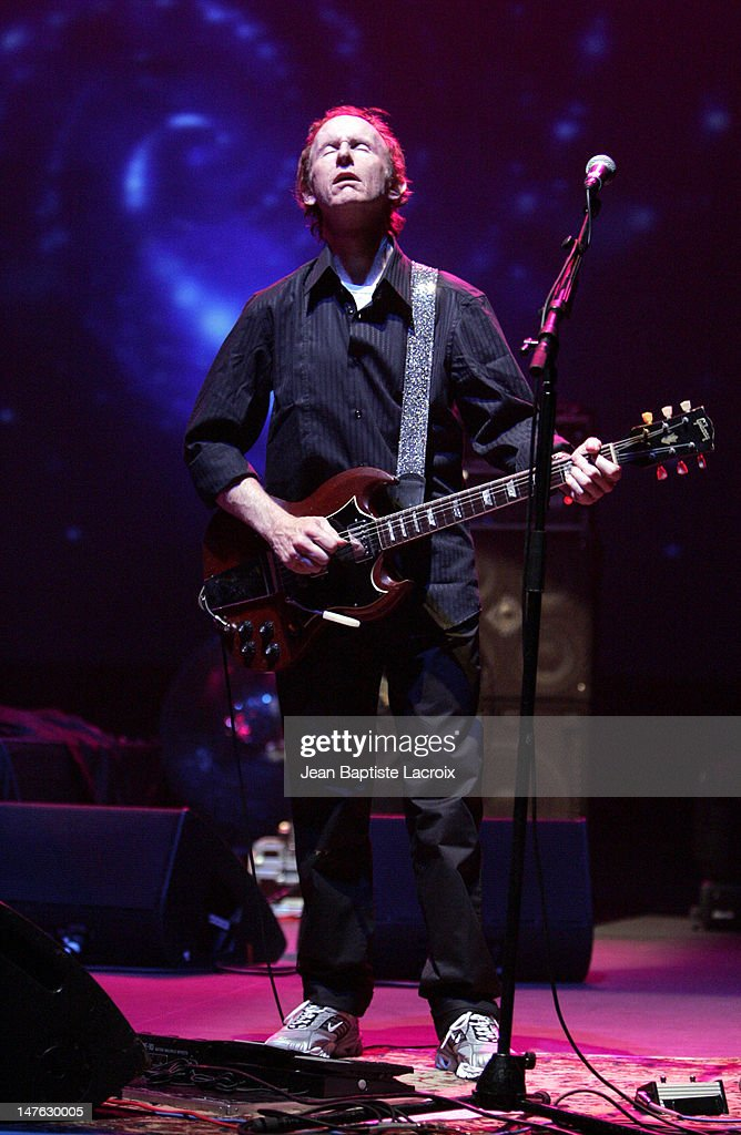 Robby Krieger of The Doors of the 21st Century during The Doors of the 21st Century in Concert - July 15, 2004 at Palais des Congres in Paris, France.