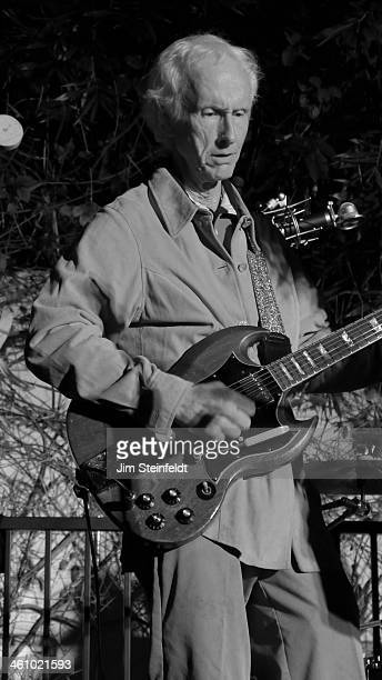 Robby Krieger of The Doors performs at the 50th Anniversary of the Sunset Marquis Hotel in Los Angeles California on November 17 2013