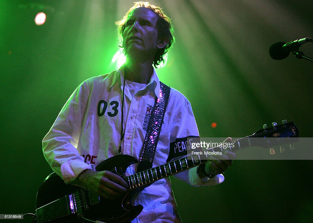 Robby Krieger of the Doors performs on stage at the Miller Rock Thru Time Celebrating 50 Years of Rock Concert at Roseland September 17, 2004 in New York City.