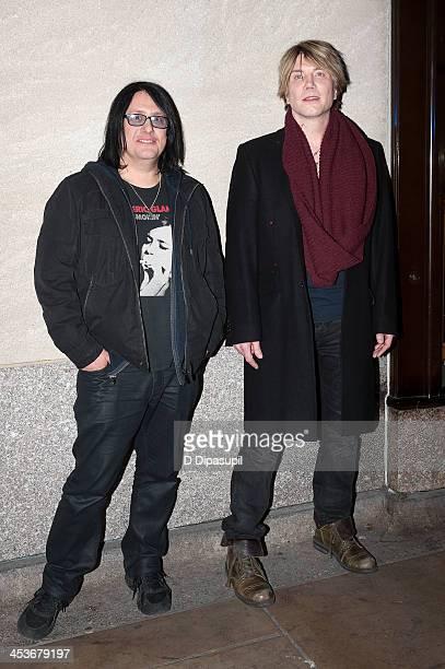 Robby Takac and John Rzeznik of the Goo Goo Dolls attend the 81st annual Rockefeller Center Christmas Tree Lighting Ceremony on December 4 2013 in...