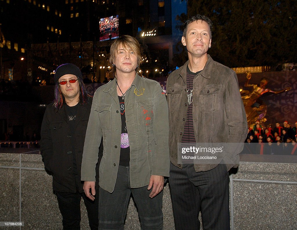 Robby Takac Johnny Rzeznik and Mike Malinin