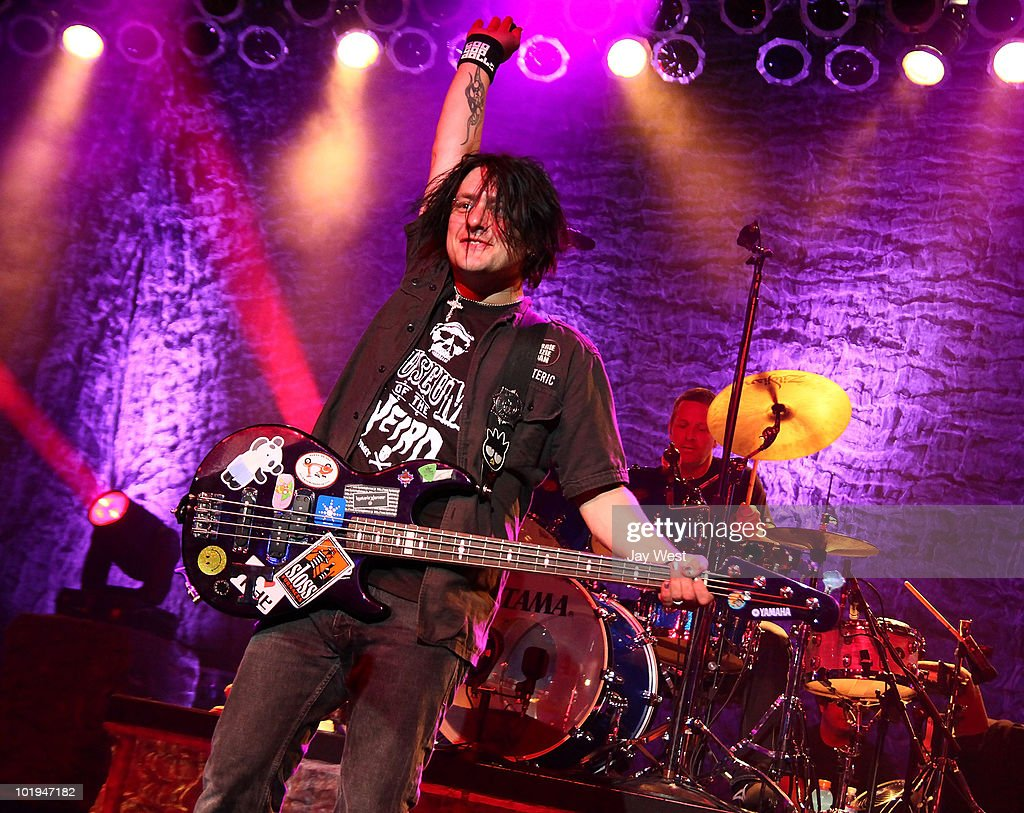 Robby Takac of Goo Goo Dolls performs at Austin Music Hall on June 9 2010 in Austin Texas