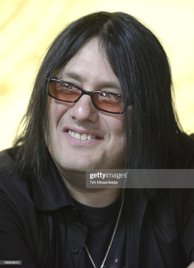 Robby Takac of the Goo Goo Dolls attends a press interview at Trinchero Family Estate as part of Live In The Vineyard on April 6, 2013 in Napa, California.