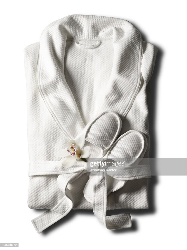 Robe with a Flower