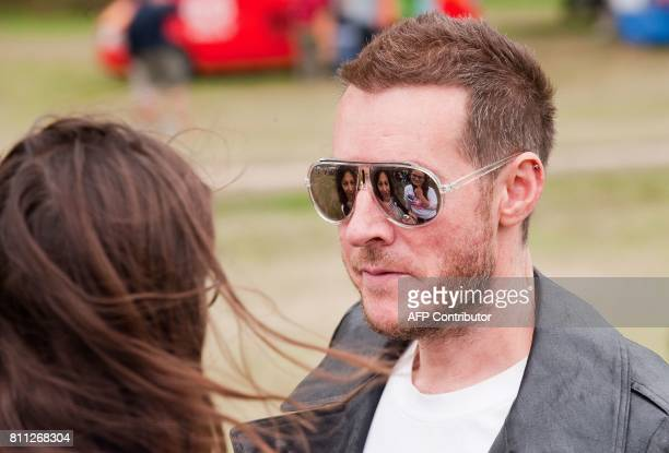 Robert '3D' del Naja of British triphop band Massive Attack attends the Big Chill festival near Ledbury in Herefordshire on August 6 2010 Running...