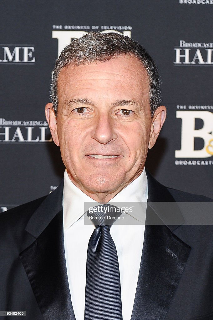 Robert A. Iger attends Broadcasting and Cable Hall Of Fame Awards 25th Anniversary Gala at The Waldorf Astoria on October 20, 2015 in New York City.