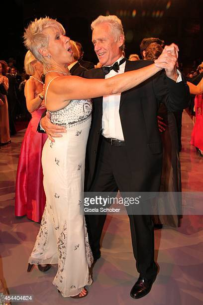 Robert Atzorn and his wife Angelika Atzorn attend the Salzburg Festival Ball at Felsenreitschule on August 30 2014 in Salzburg Austria