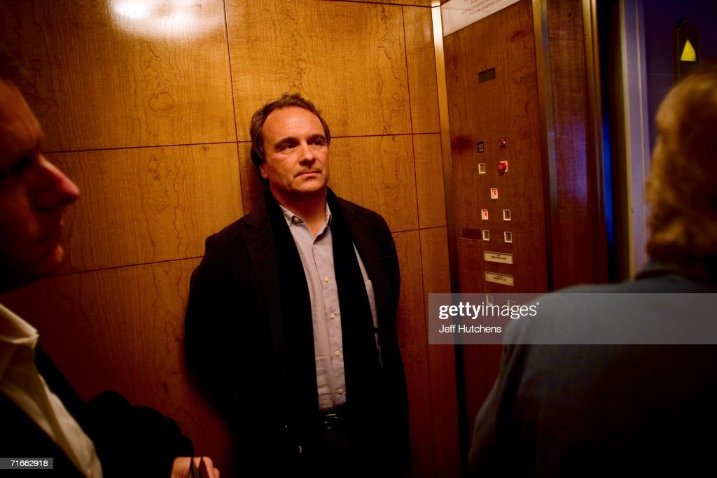 Robert Baer author of the book 'See No Evil The True Story of a Ground Soldier in the CIA's War on Terrorism' is photographed in the lobby of the...