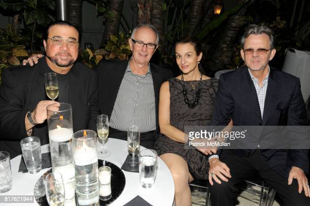 Robert Berman Carl Hammer Deborah Harris and Tim Hill attend MAYBACH and MOCA Art Basel Party with LCD SOUNDSYSTEM at The Raleigh Hotel on December 1...