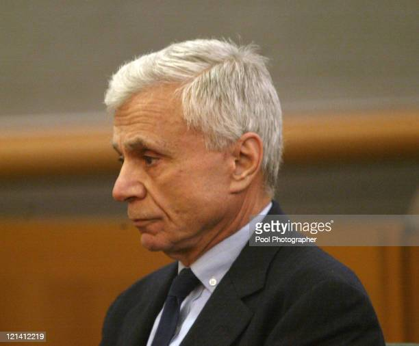 Robert Blake appears in Los Angeles Superior Court on Monday February 23 2004 Blake is charged in the May 2001 shooting death of his wife Bonny Lee...