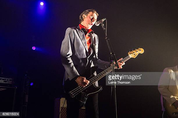 Robert Blamire of Penetration performs at O2 Academy Brixton on November 26 2016 in London England