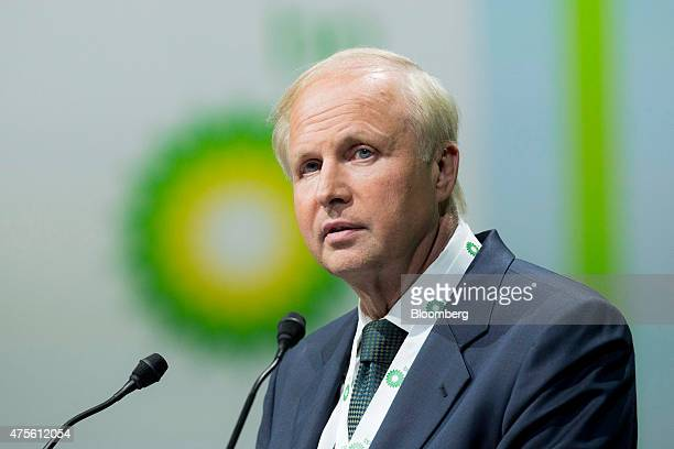Robert 'Bob' Dudley chief executive officer of BP Plc pauses during the World Gas Conference in Paris France on Tuesday June 2 2015 Oil companies...