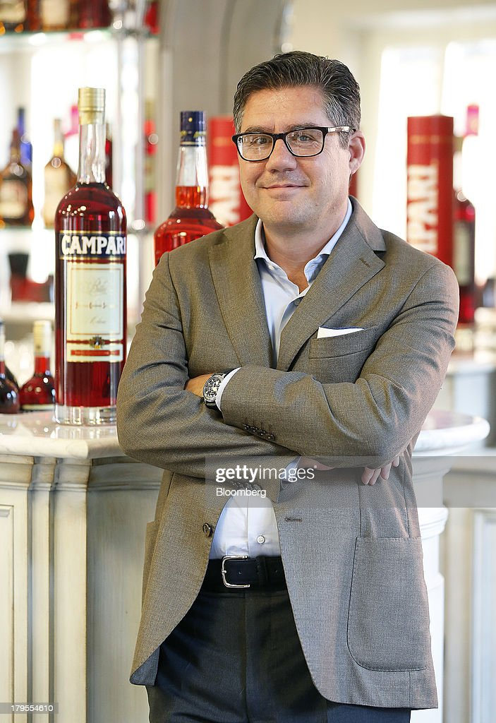 Robert 'Bob' Kunze-Concewitz, chief executive officer of Davide Campari-Milano SpA, poses for a photograph at the company's headquartersin Milan, Italy, on Wednesday, Sept. 4, 2013. Campari, the maker of Skyy vodka and Wild Turkey bourbon, said it expects gradual improvement for the rest of the year after sales trends improved for its leading liquor brands in the second quarter. Photographer: Alessia Pierdomenico/Bloomberg via Getty Images