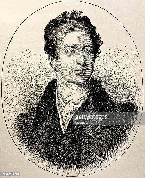 PEEL Robert British politician Engraving