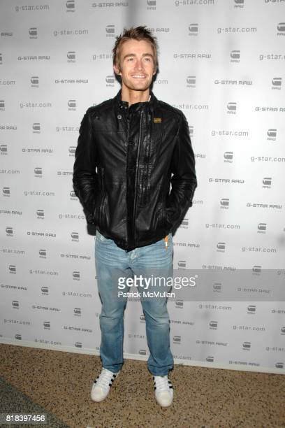 Robert Buckley attends GSTAR RAW Presents NY RAW Fall/Winter 2010 Collection Arrivals at Hammerstein Ballroom on February 16 2010 in New York City