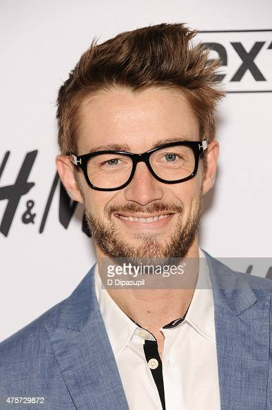 Robert Buckley visits 'Extra' at their New York studios at HM in Times Square on June 3 2015 in New York City