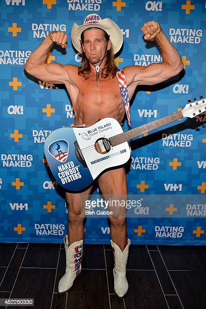 Robert Burck 'Naked Cowboy' attends the 'Dated Naked' series premiere at Gansevoort Park Avenue on July 16 2014 in New York City