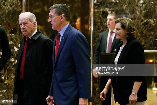 Robert C 'Bud' McFarlane former US president Ronald Reagan's national security adviser from 1983 to 1985 incoming National Security adviser Lt Gen...