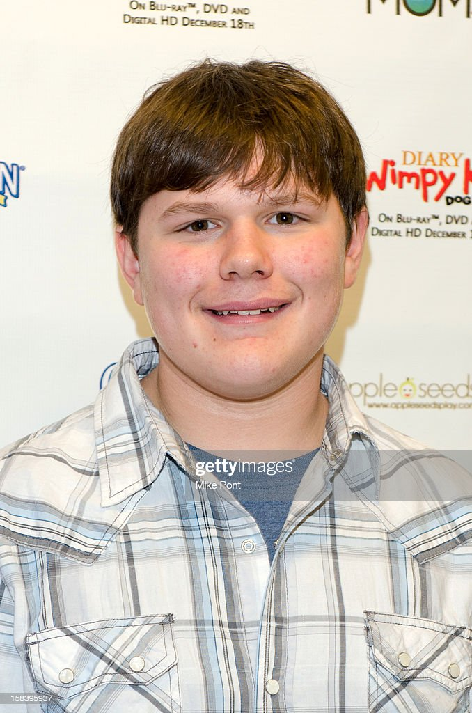 Robert Capron attends 'Diary Of A Wimpy Kid: Dog Days' DVD Release Launch Event at apple seeds on December 15, 2012 in New York City.