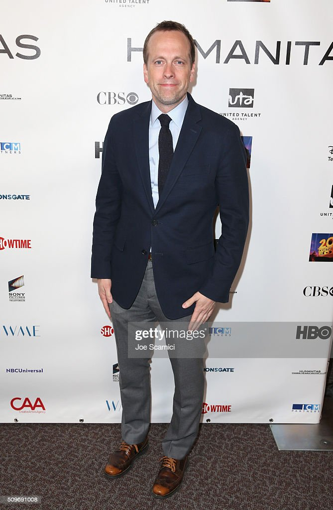 Robert Carlock, finalist for 'Unbreakable Kimmy Schmidt' attends the 41st Humanitas Prize Awards Ceremony at Directors Guild Of America on February 11, 2016 in Los Angeles, California.