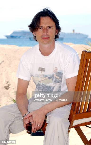 Robert Carlyle poses for photographers during a photocall for his new film 'Once upon a time in the Midlands' at the Grand Hotel beach during the...