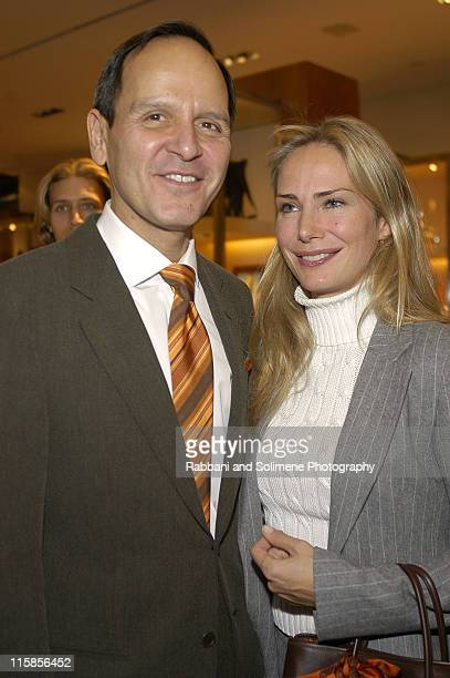 """Robert Chavez and Valesca GuerrandHermes during Hermes Hosts KickOff Cocktail Party for School of American Ballet's """"An Enchanted Evening"""" at Hermes..."""