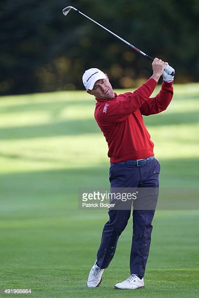 Robert Coles from England at Mount Wolseley Hotel Spa and Golf Resort on October 9 2015 in Carlow Ireland