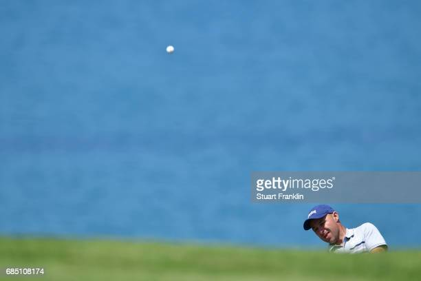 Robert Coles of England plays a shot during the second round of The Rocco Forte Open at The Verdura Golf and Spa Resort on May 19 2017 in Sciacca...