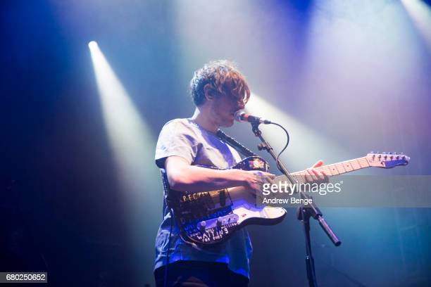 Robert Coles of Little Comets performs at Live At Leeds finale ft Maximo Park on April 30 2017 in Leeds England Live at Leeds is a music festival...