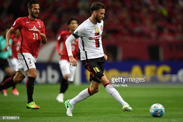 Robert Cornthwaite of Western Sydney in action during the AFC Champions League Group F match between Urawa Red Diamonds and Western Sydney at Saitama...