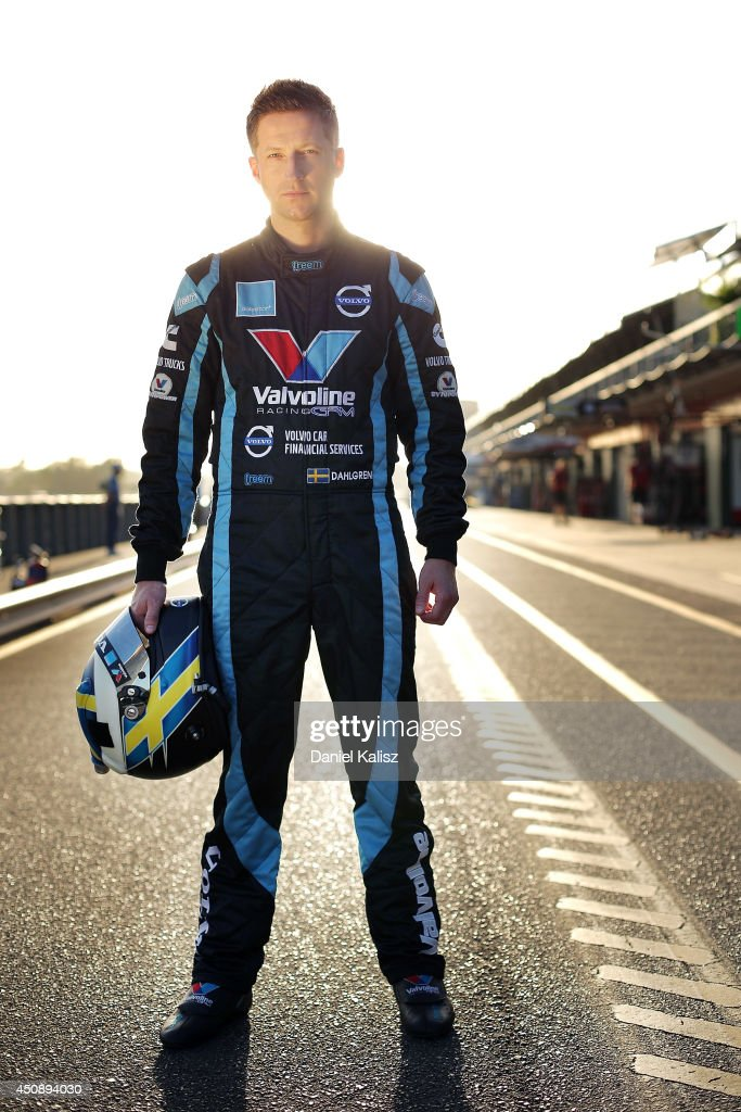 Robert Dahlgren driver of the #34 Valvoline Racing Volvo pose before practice for the Triple Crown Darwin, which is round six of the V8 Supercar Championship Series at Hidden Valley Raceway on June 20, 2014 in Darwin, Australia.