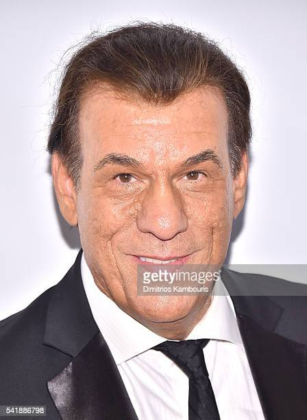 Robert Davi attends as the Friars Club Honors Tony Bennett With The Entertainment Icon Award Arrivals at New York Sheraton Hotel Tower on June 20...