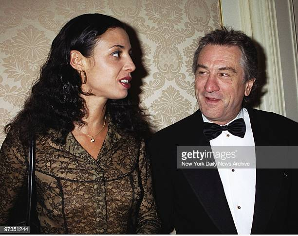 Robert De Niro and daughter Drena are on hand at the Museum of the Moving Image dinner honoring film producer Jane Rosenthal at the St Regis Hotel