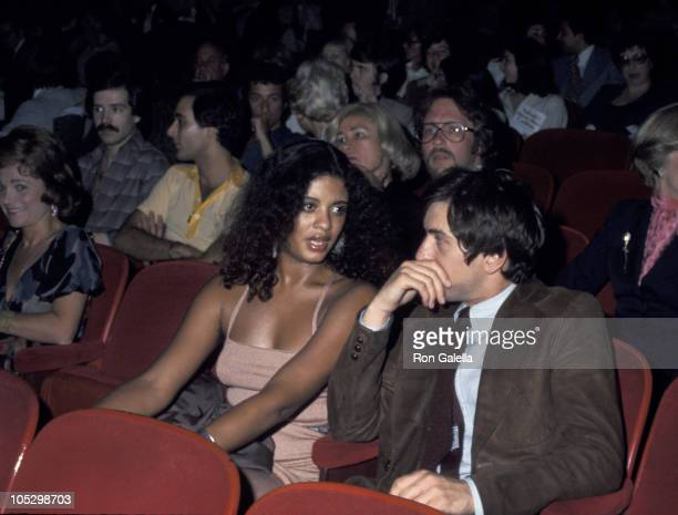 Robert De Niro and Diahnne Abbott during Opening of Shirley MacLaine's One Woman Show at The Palace Theater in New York City New York United States